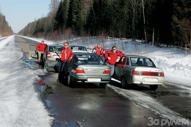 Тест Renault Logan, Lada Kalina, Lada 110, Daewoo Nexia, Chevrolet Lanos. Сделано вСССР— фото 64286