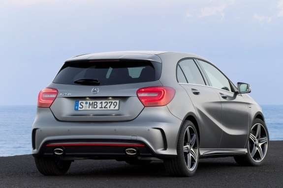 Mercedes-Benz A250 Sport side-rear view