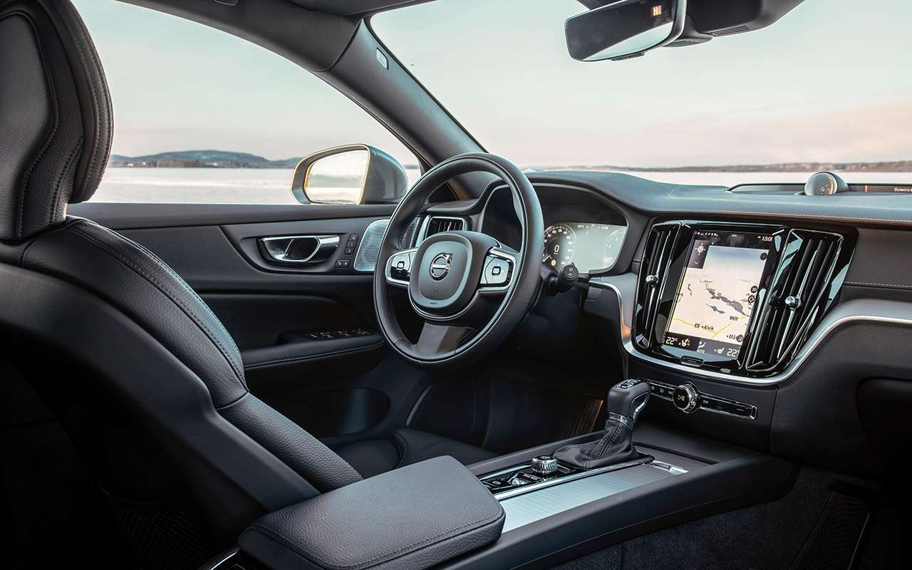 Универсал Volvo V60 Cross Country— тест наснегу ильду— фото 950851