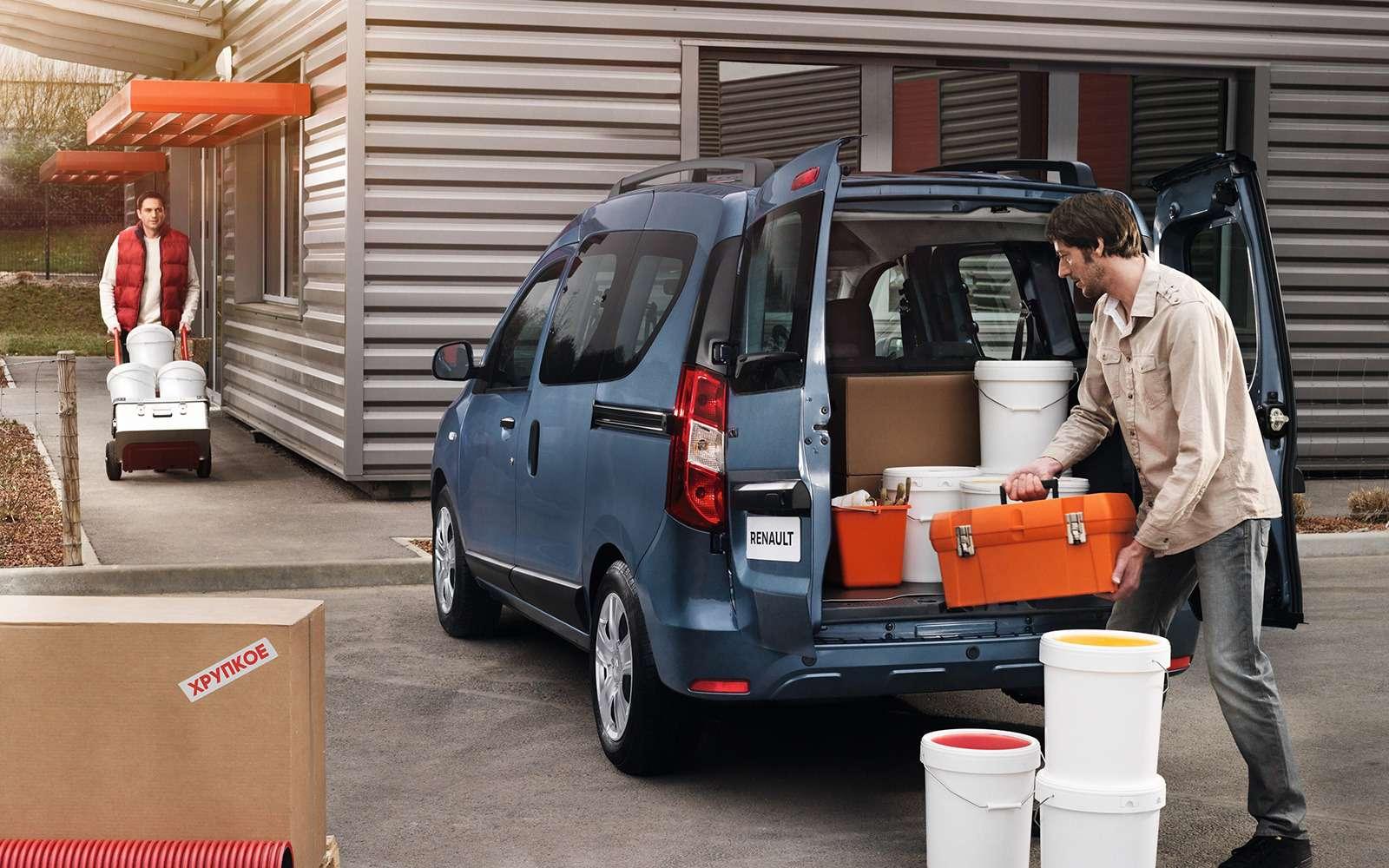 Долгожданный Renault Dokker— цены икомплектации— фото 812050