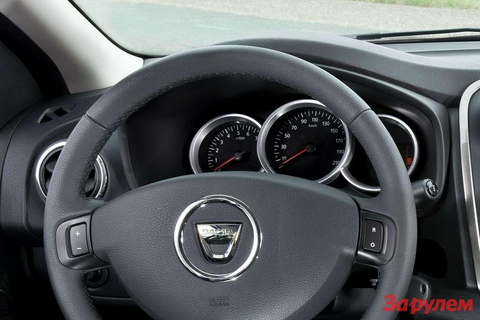Панель приборов Dacia Logan (Sandero)