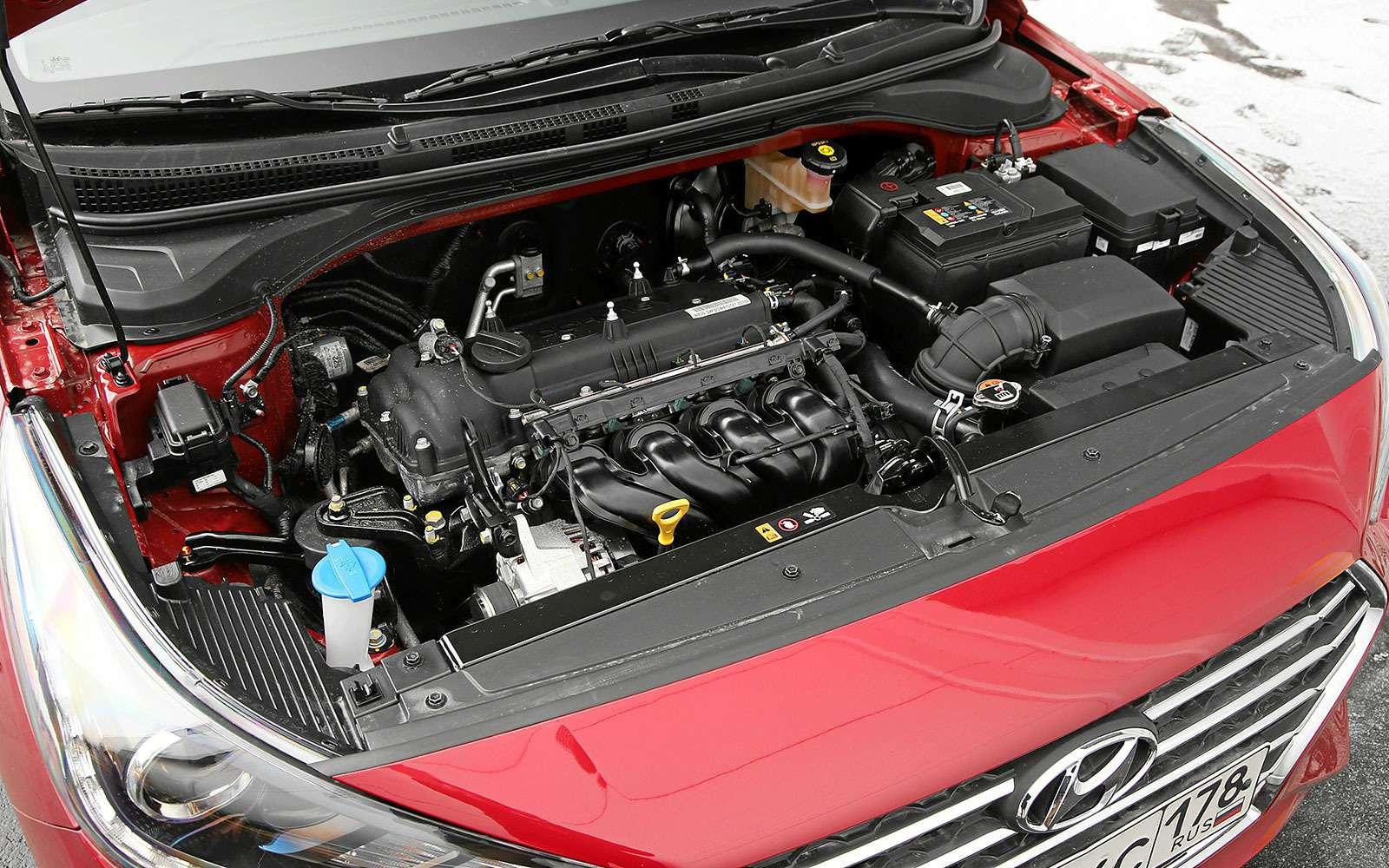 Новый Hyundai Solaris— выбираем оптимальную модификацию— фото 771748