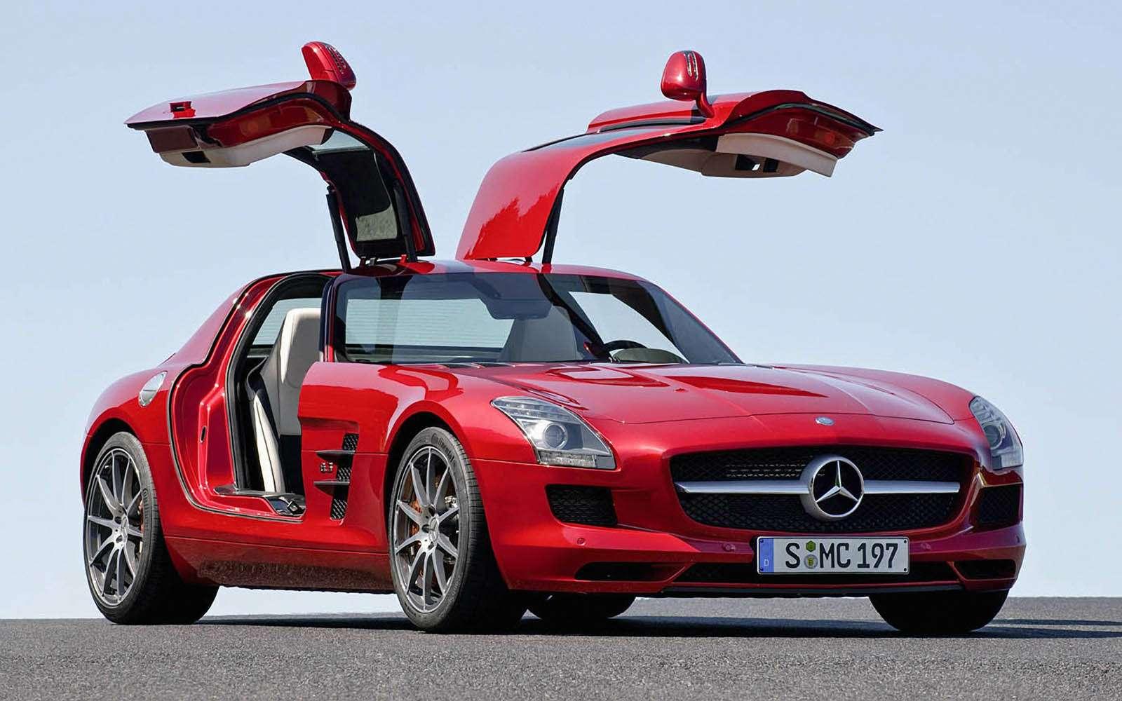 Mercedes-Benz SLS 63AMG, 2010-2014