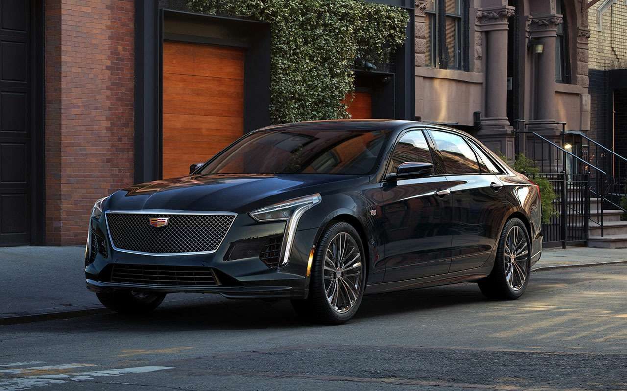 КаквАмерике: российские цены наобновленный Cadillac CT6— фото 982454