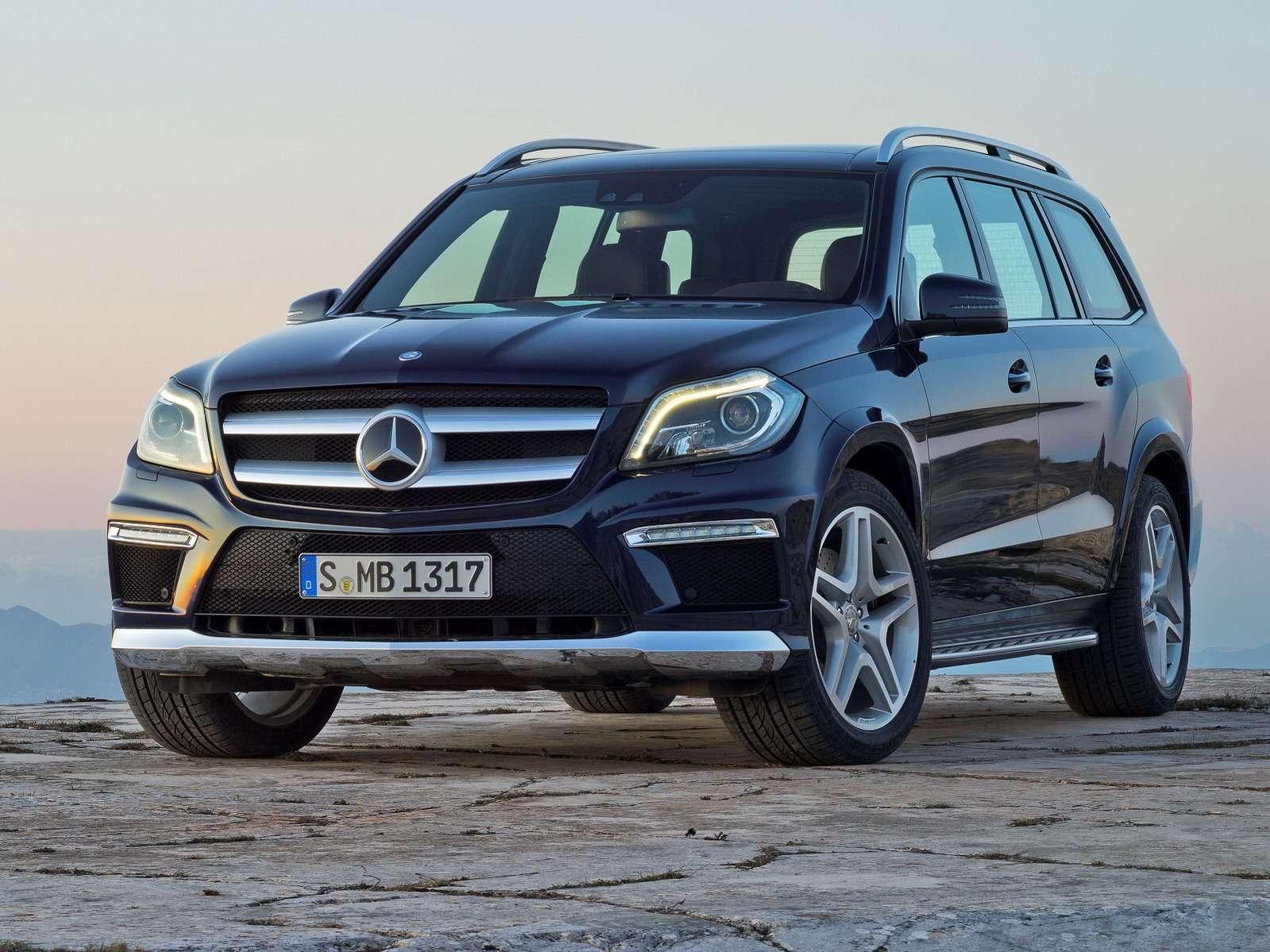 Класс Вседорожники   Mercedes Benz GLnocopyright