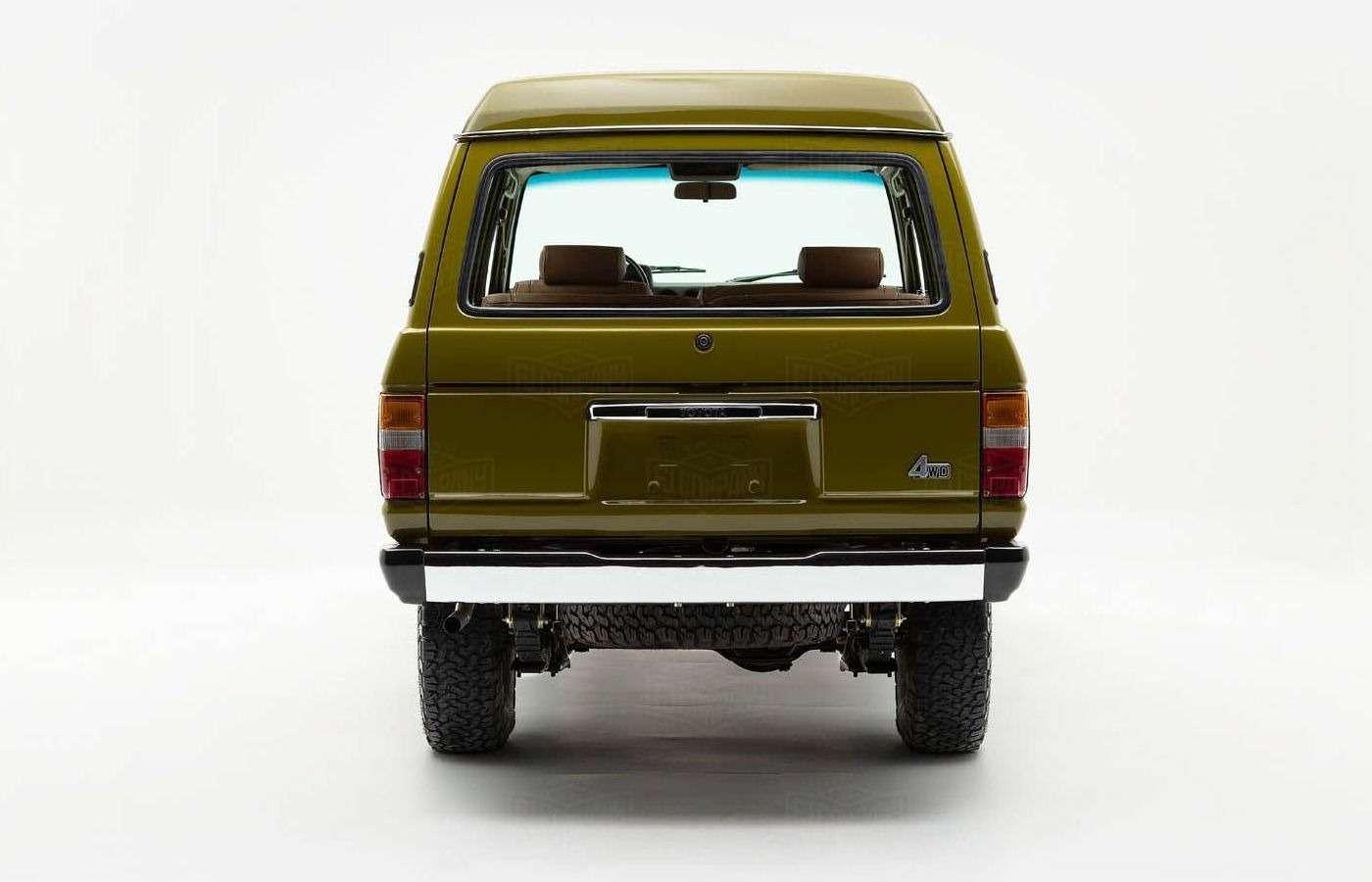 Абсолютно новый Toyota Land Cruiser 1986 года. Да, такое бывает!— фото 877221