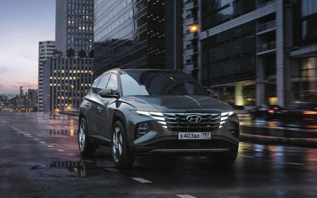 Новый Hyundai Tucson дляРоссии— названы цены— фото 1250648