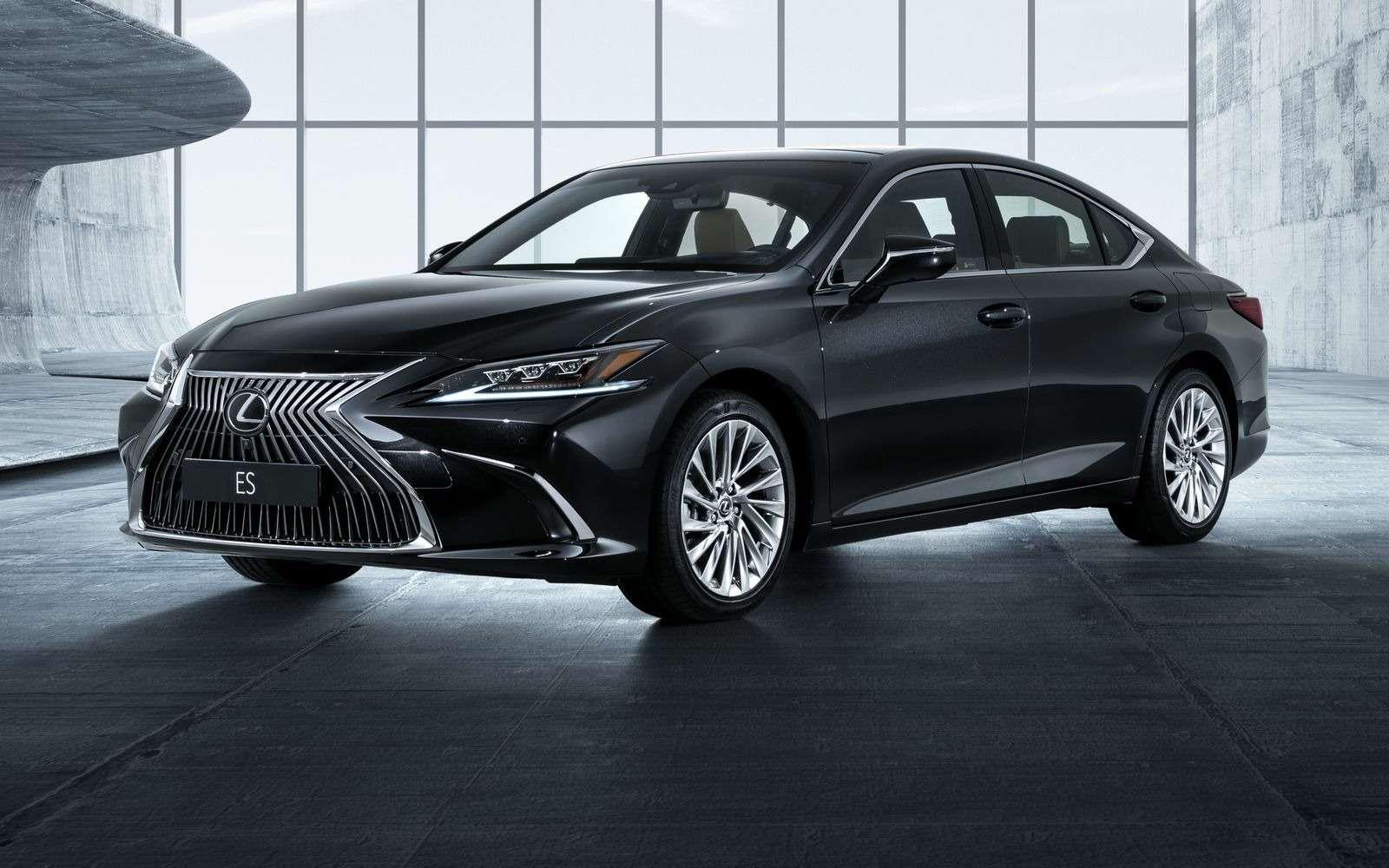 Новый Lexus ES: без полного привода итурбомоторов— фото 865657