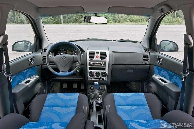 Тест Lada Kalina, Hyundai Getz, Ford Fiesta. Вкомпании спровинциалом.— фото 68882