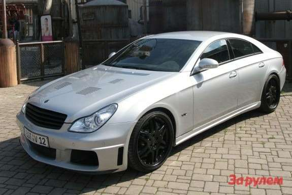 Brabus Rocket side-front view