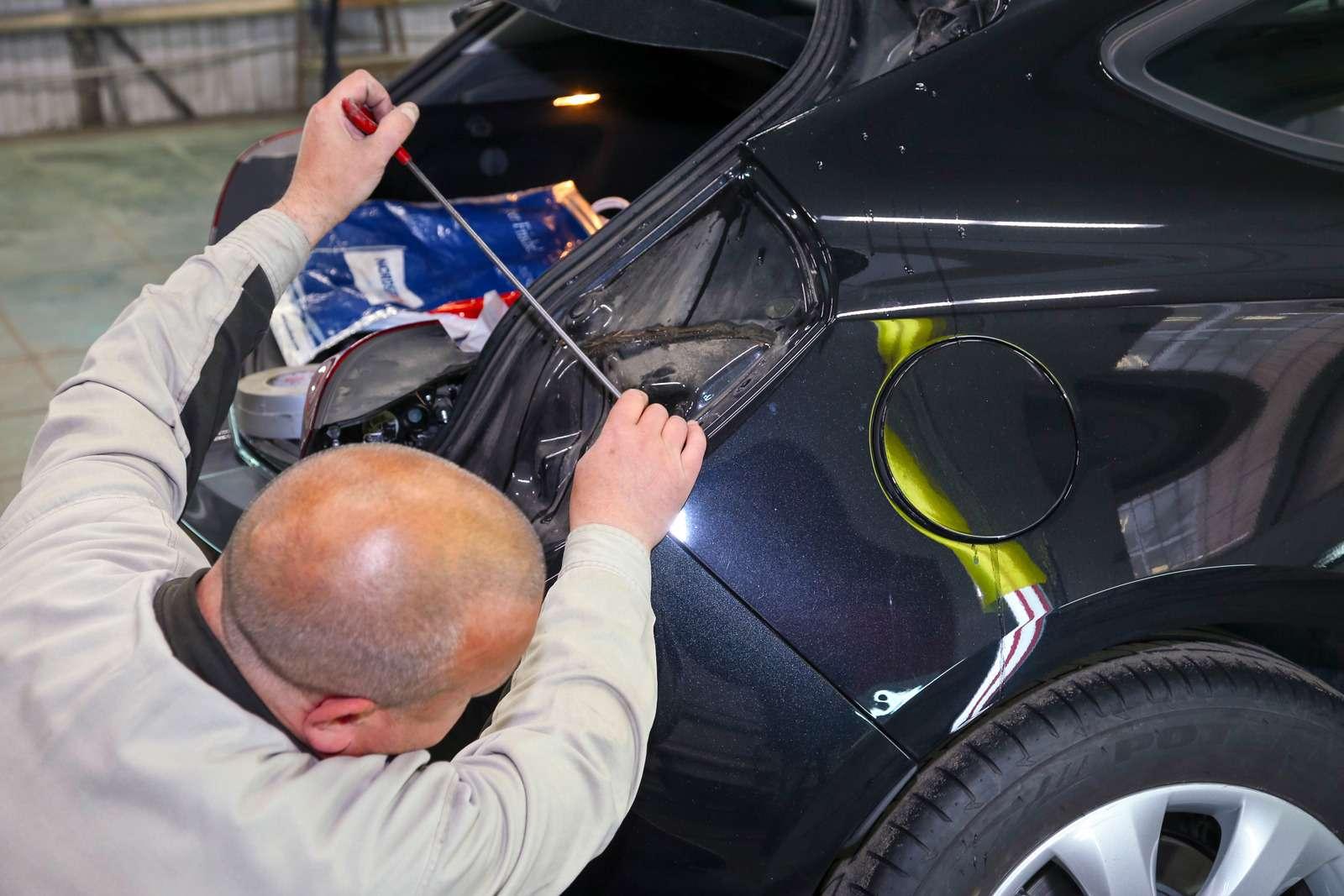 Технологии локального кузовного ремонта: ловкость рук— фото 612146