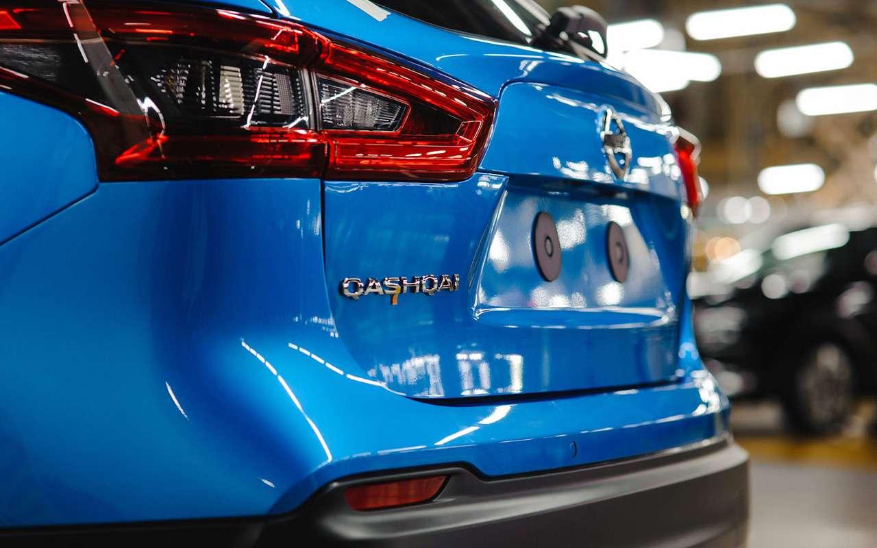 Первый обновленный Qashqai сошел сконвейера российского завода Nissan— фото 947105