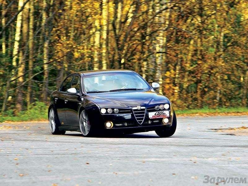 Alfa Romeo 159: Алледжерита— фото 91647