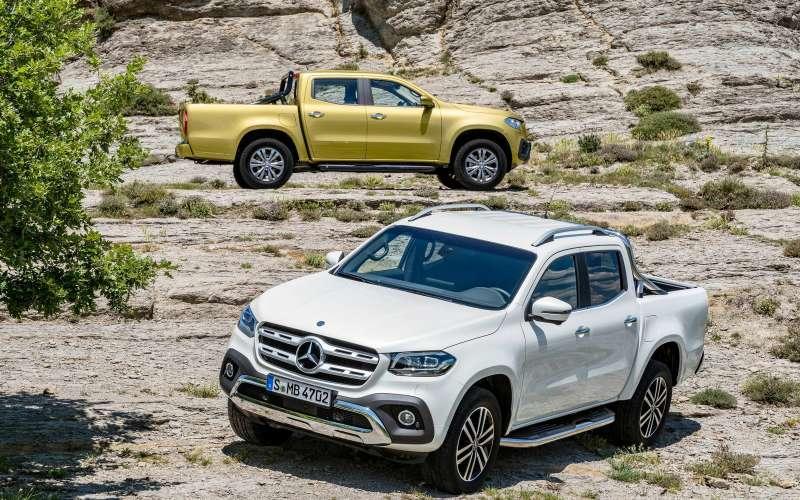 Mercedes-Benz привез вРоссию Х-класс: грузовик поцене дорогого кроссовера