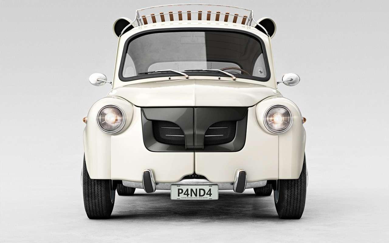 А что, если... дикие животные купилибы автомобили? Фантазия художника— фото 958540