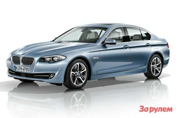 BMW 5 ActiveHybrid side-front view