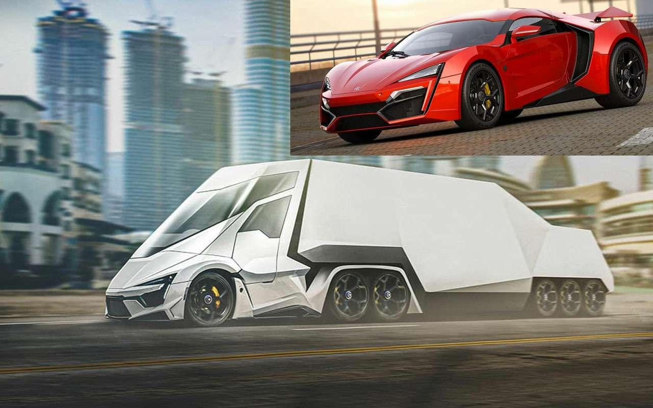 Грузовики Ferrari, Aston Martin, McLaren...— дизайн уже есть!— фото 1165236