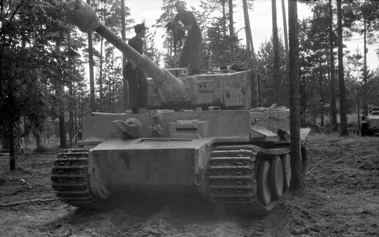 Немецкий «Тигр» против нашего ИС-2— битва технологий— фото 952543