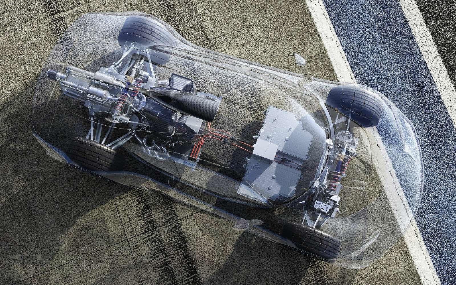 Mercedes-AMG Project One: 1000-сильный гиперкар с1,6-литровым мотором— фото 793632