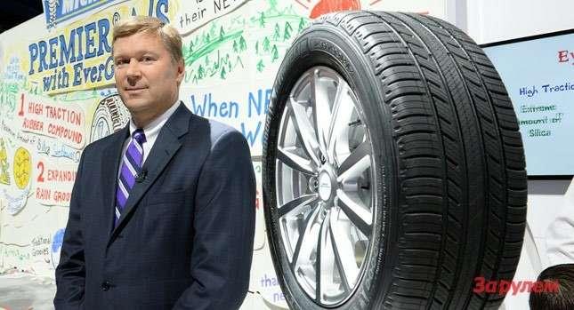 Michelin продемонстрировала шины сулучшающимся современем сцеплением