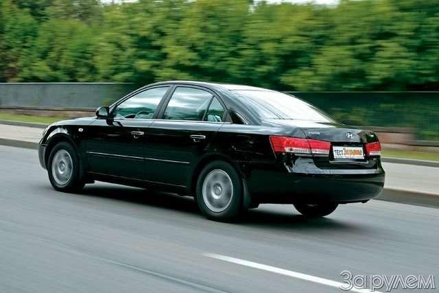 Hyundai NF, Hyundai Sonata. Налигу выше— фото 59046