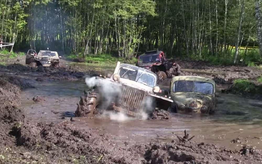 Самая экстремальная гонка набездорожье: тонны грязи