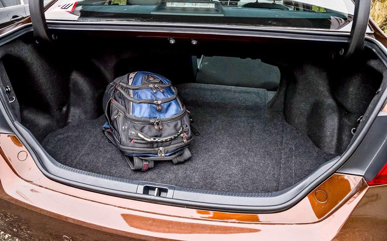 Hyundai Sonata против конкурентов— большой тест ЗР— фото 834925