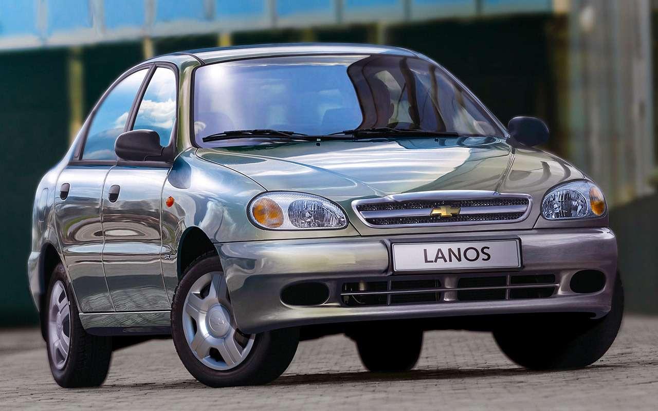 Самые дешевые автомобили спробегом: до50и до100 тысяч!— фото 1139272