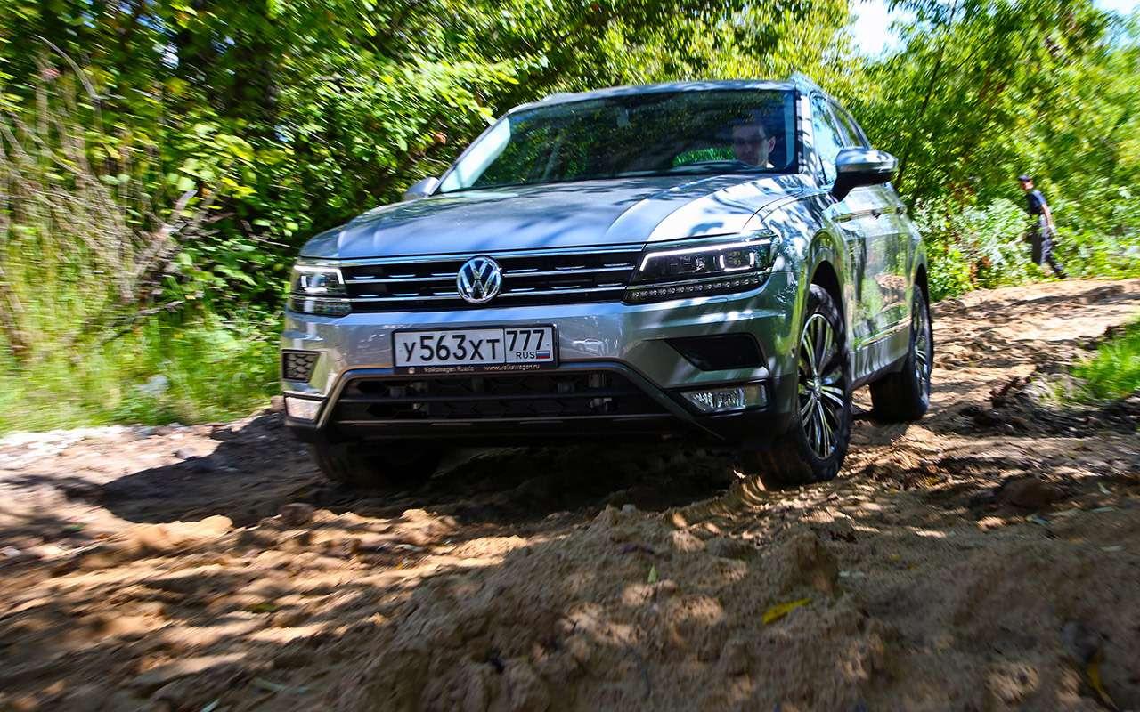Volkswagen Tiguan дляэкономных— тест-драйв ЗР— фото 802433