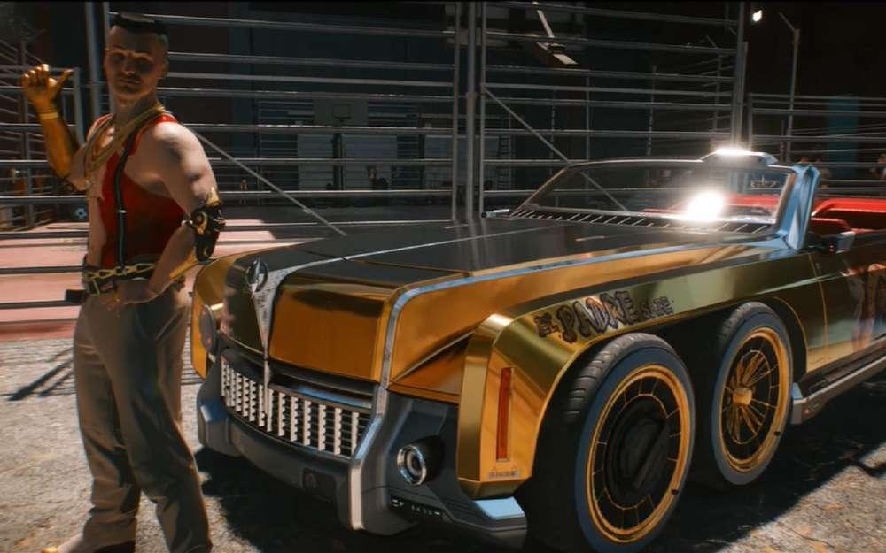 Таких машин выеще невидели: новая игра Cyberpunk 2077