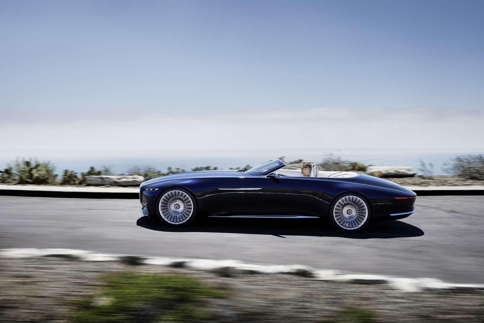 Пикник подкапотом: представлен кабриолет Mercedes-Maybach Vision 6— фото 786177