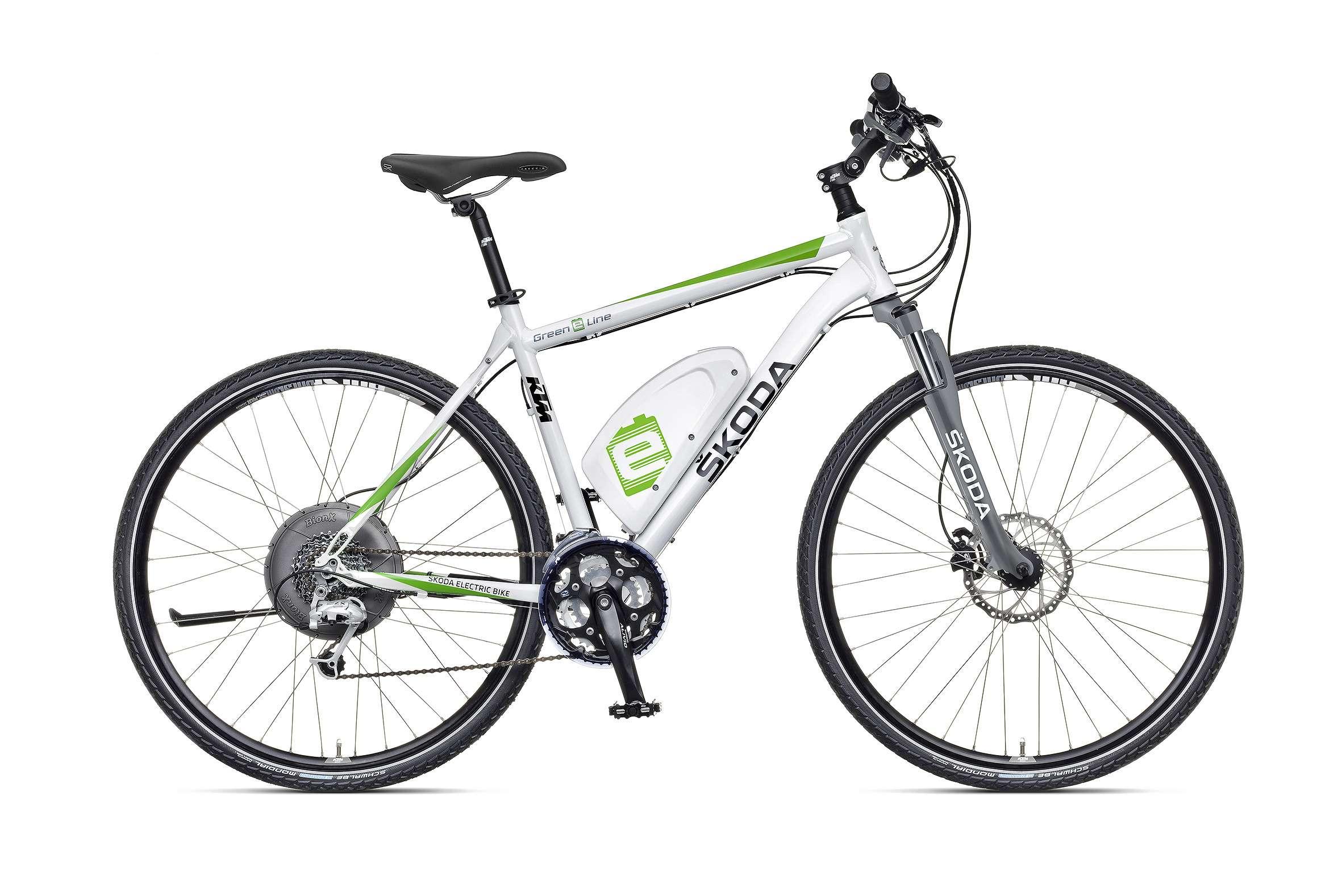 Электровелосипед Skoda e-Bike: осторожно— напряжение!— фото 763650