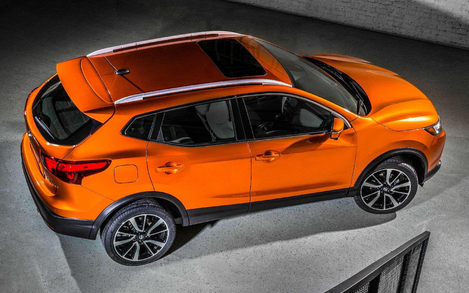 В США дебютировал «спортивный» Nissan Qashqai— фото 691238