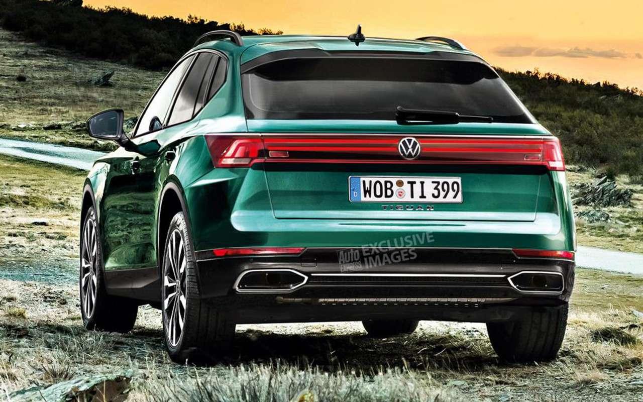 Новый Volkswagen Tiguan: большие изменения вовсем— фото 989617