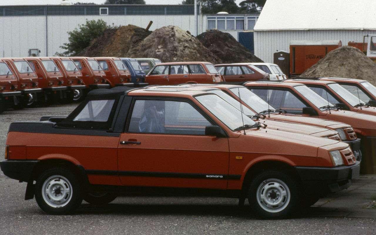 Lada Samara— самые необычные модификации— фото 934910