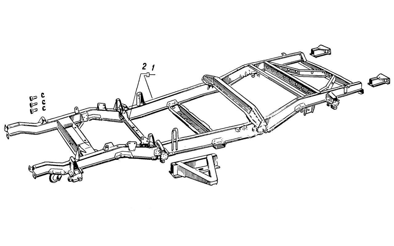 Вкус «буханки»: полная история УАЗ-450— фото 1269676