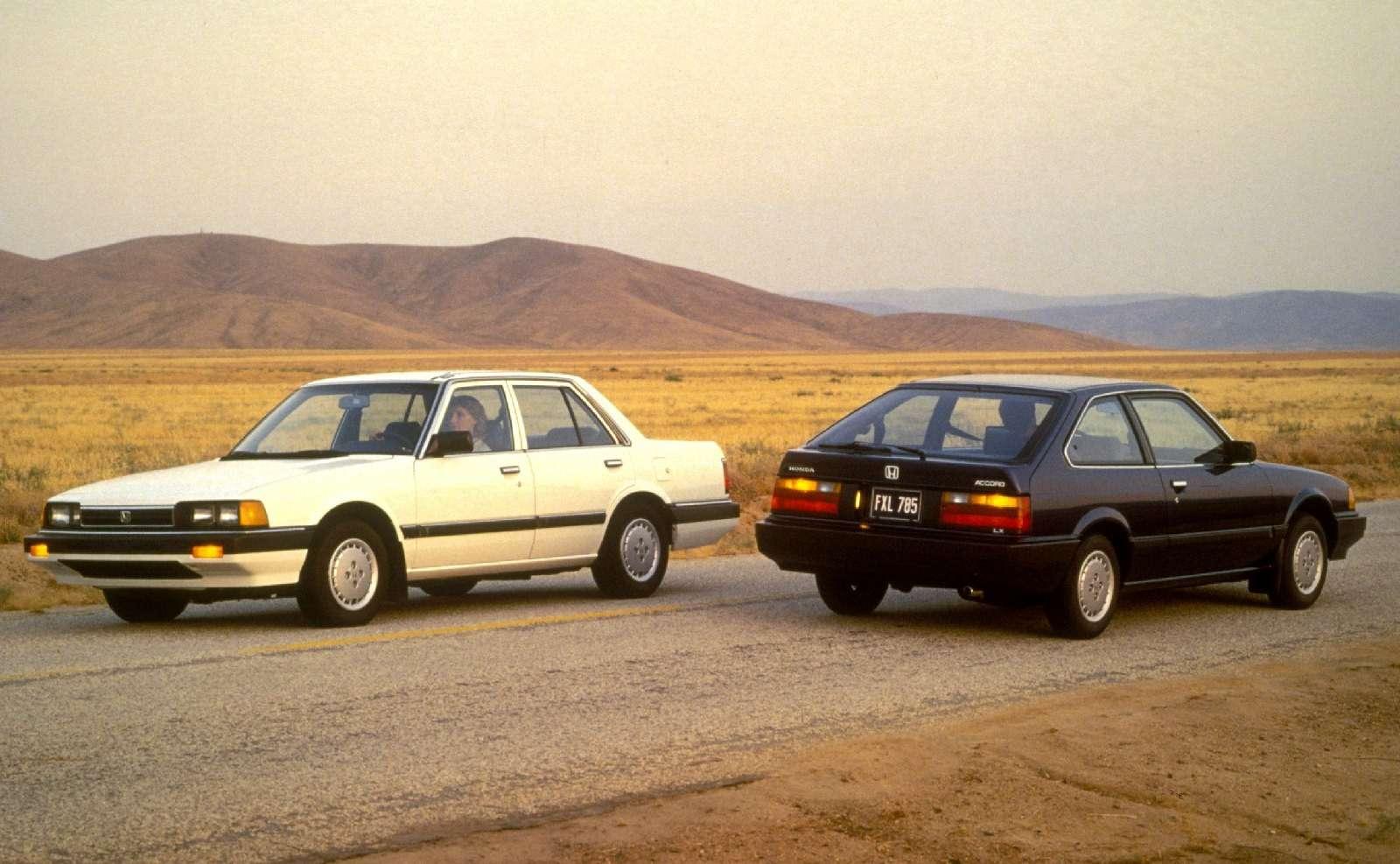 Honda Accord празднует 40-летний юбилей— фото 603976