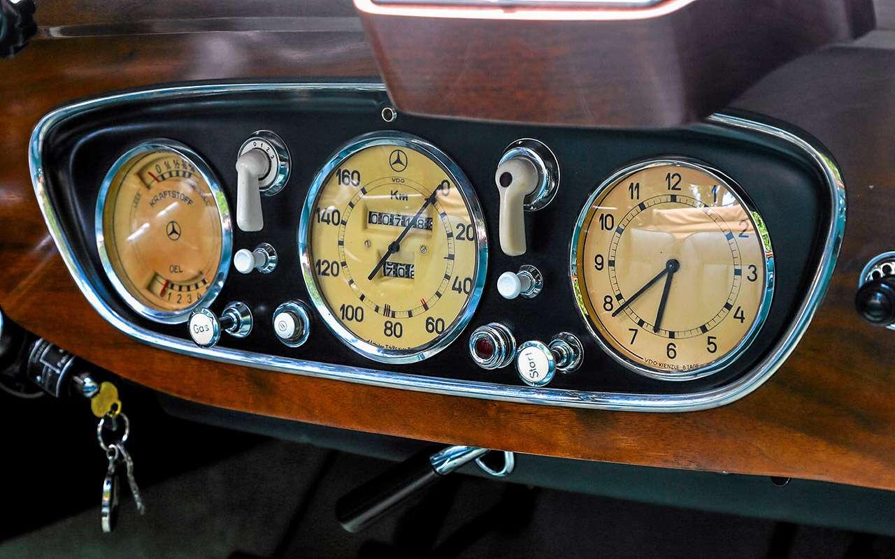Очень редкий Мерседес W142— ретротест кабриолета-пенсионера— фото 950193
