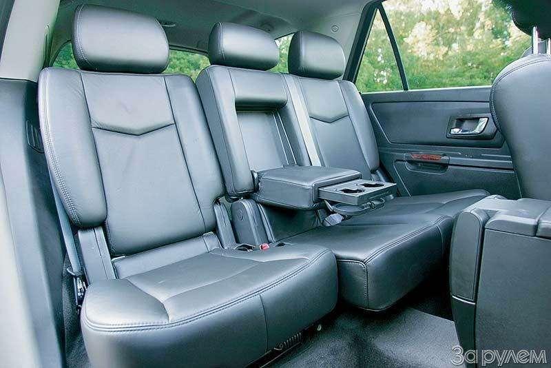 Тест Audi A6Allroad, Cadillac SRX, Volvo XC70. Выше среднего— фото 67362