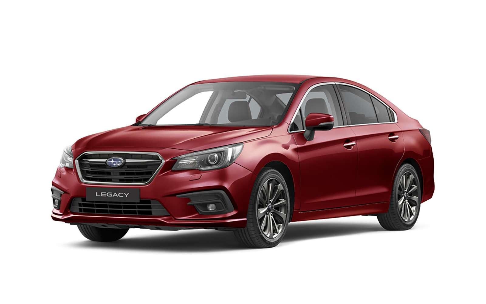 Возвращение Subaru Legacy вРоссию: первые подробности— фото 849367