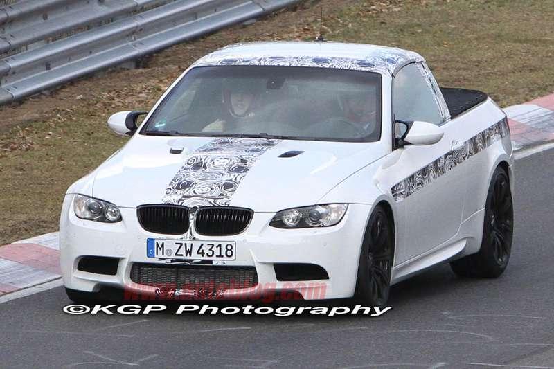 Пикап BMW M3прошел обкатку вНюрбургринге