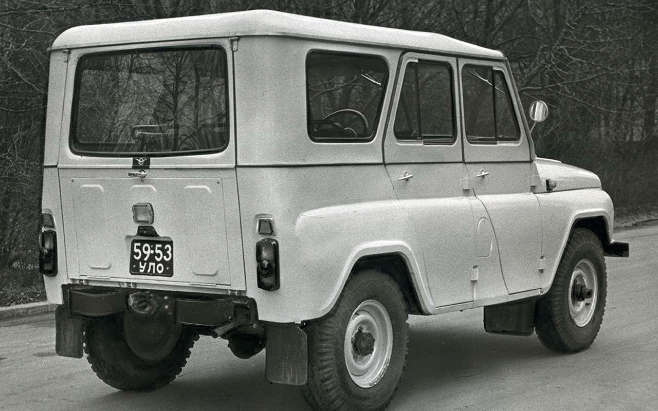«Козлик» УАЗ-469— таких модификаций выточно не видели!— фото 978716