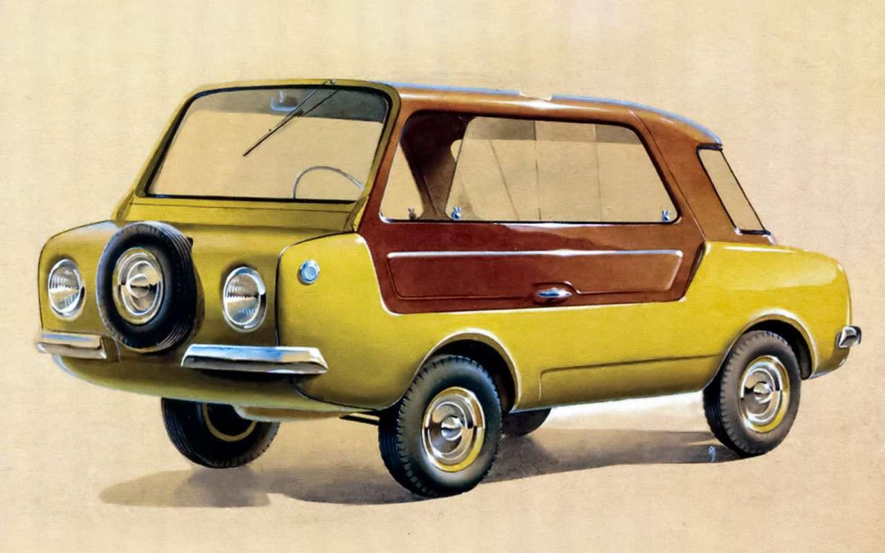 Народные автомобили СССР: вот кто был доЗапорожца!— фото 1253113