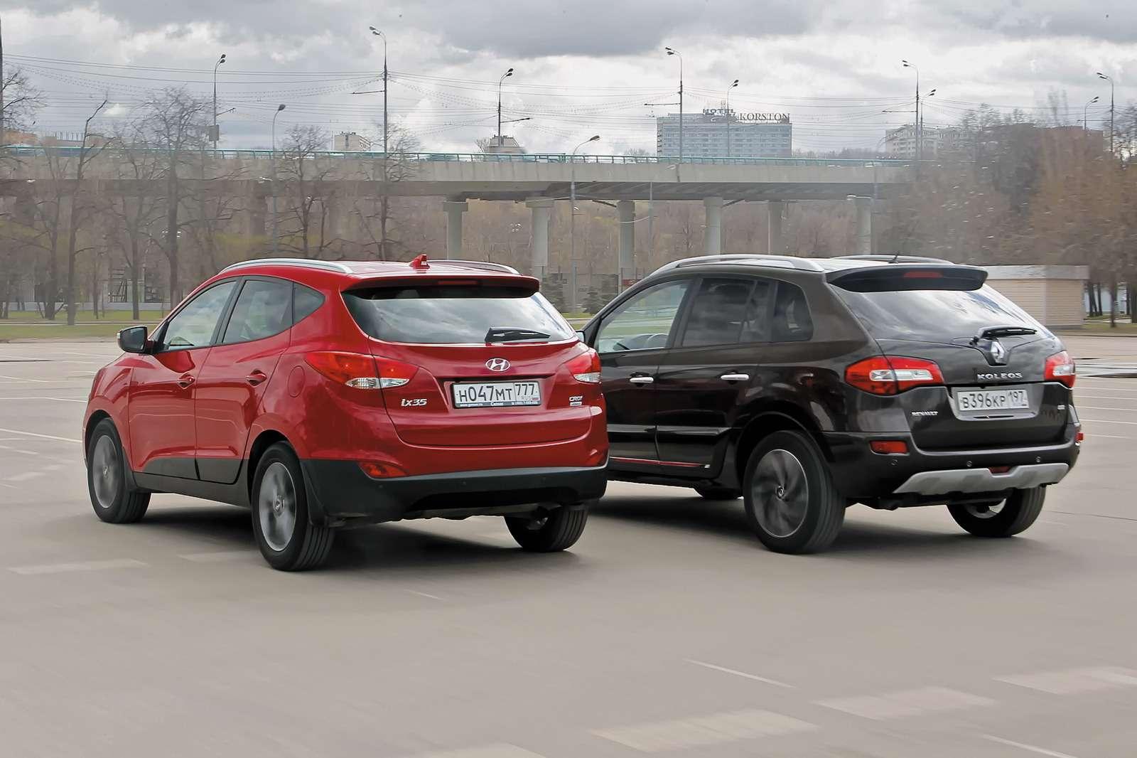 Renault Koleos иHyundai ix35