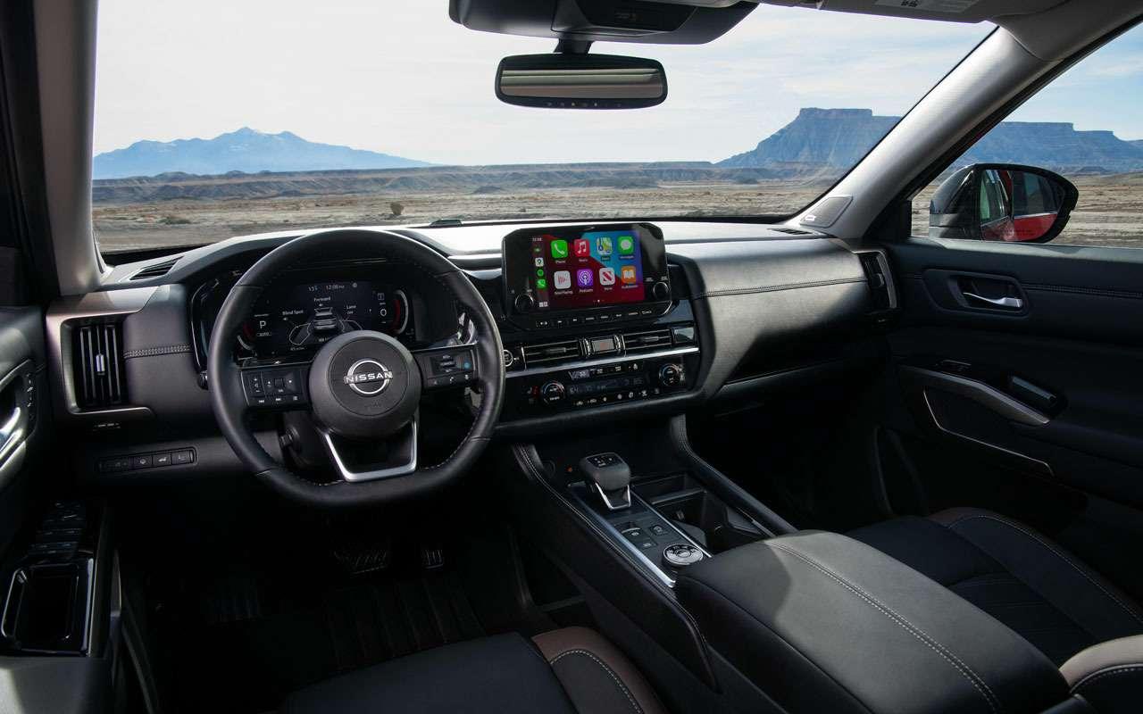 Новый Nissan Pathfinder— скоро вРоссии— фото 1221287