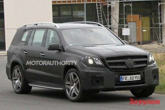 Mercedes-Benz GL63AMG side-front view