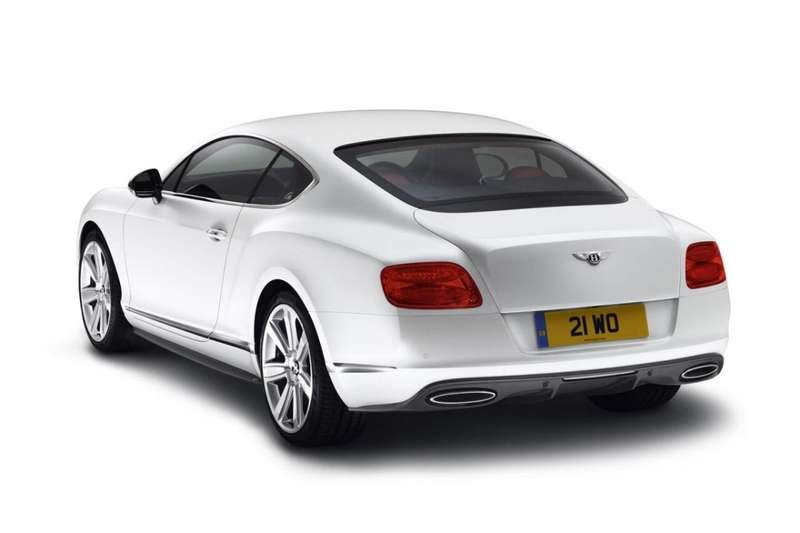 Bentey Continental GTMulliner Styling Specification Classic Pack rear view