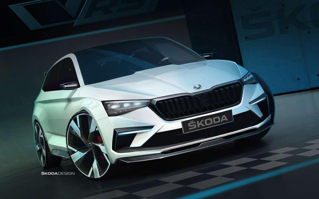 Skoda показала дизайн нового Rapid— фото 908775