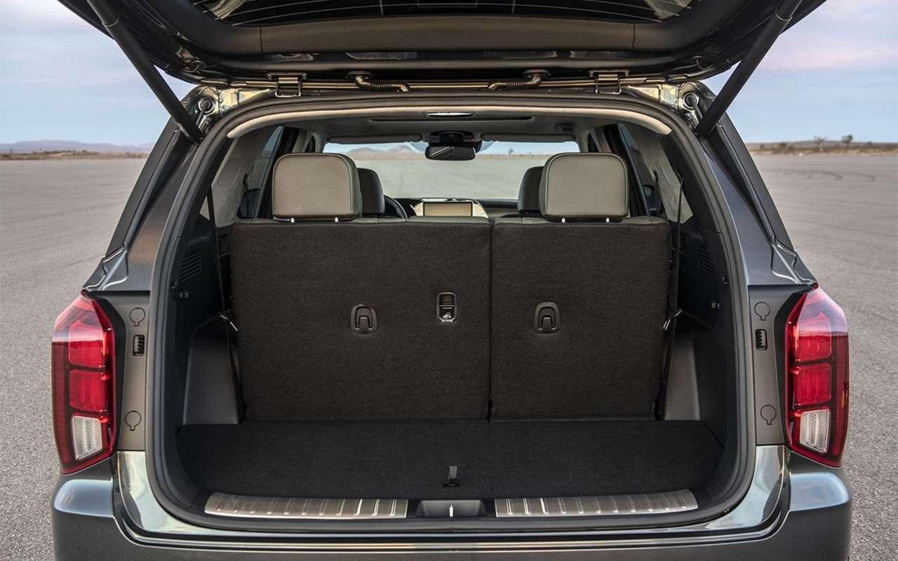 Кроссовер Hyundai Palisade вЛос-Анджелесе: больше некуда— фото 929610