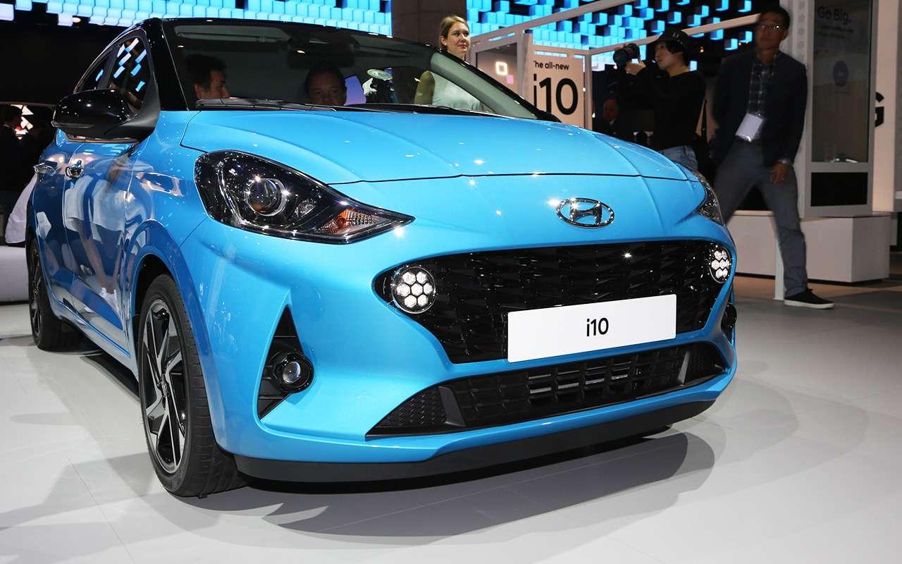 Hyundai i10 нового поколения: «мимими» вам вленту!— фото 995286